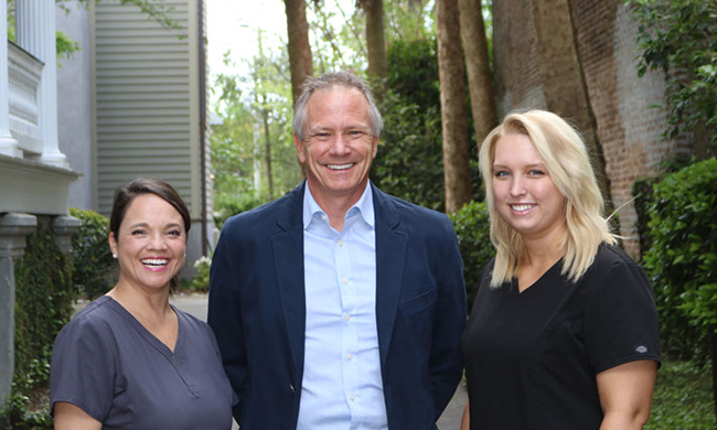 Downtown Charleston team of Ammons Dental by Design